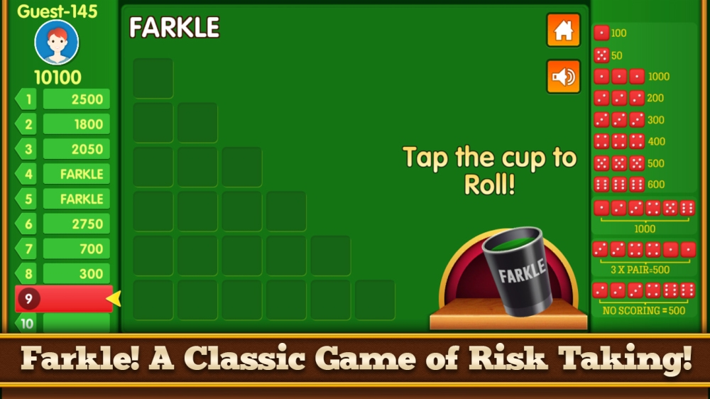 Rasakan Keseruan Main Farkle Dice Game, Download di Playstore Sekarang